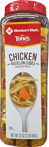 Member's Mark Chicken Bouillon Cubes, 32 Ounce