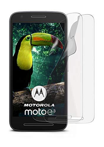 MoEx® Matte Anti Reflex Bildschirmschutzfolie passend für Motorola Moto E3 | Gegen Reflexionen und Fett-Finger - Entspiegelt