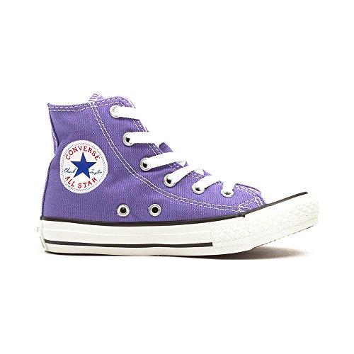 Converse All Stars Hollyhock Kids Hi Top Sneaker (Violett) - 33