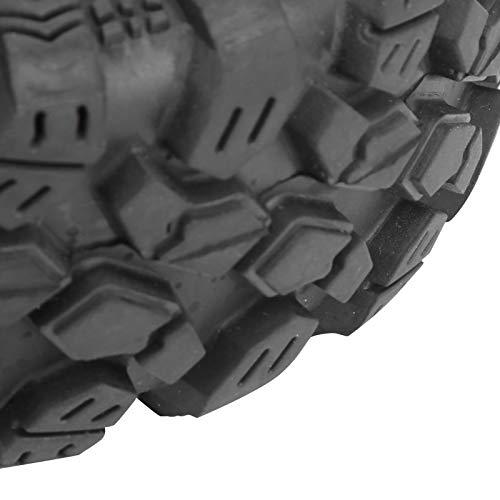 frenma Neumático RC, Neumático RC 1/10, 4Pcs Práctico 1.9in Fuerte Duradero Ecológico para Accesorio RC ZD Racing Accesorios para Neumático de Coche RC 1/10(Blue)