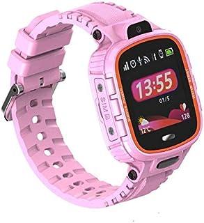 PRIXTON - Kinder-GPS-klok/Digitaalhorloge met GPS, SOS-knop, SIM-slot voor oproepen en berichten, alarm door geografische ...