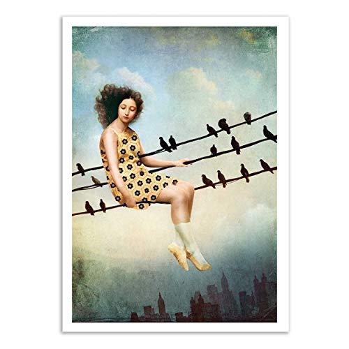 Art-Poster - Entering Dreamland - Catrin Welz-Stein