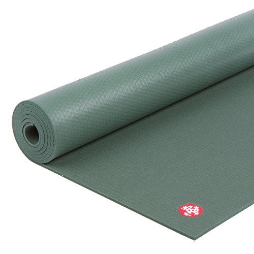 Manduka PRO Yoga and Pilates Mat, Black Sage, 85""