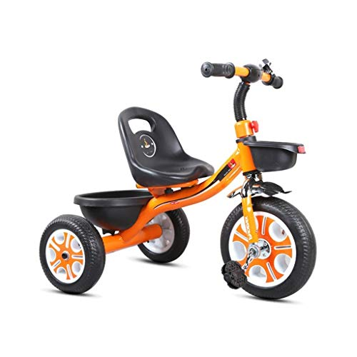 Aprender a caminar una bicicleta de equilibrio de tres ruedas for el bebé andador niños mini bici son adecuados for los niños pequeños de un triciclo de 1 a 3 años de edad, el ciclismo en interiores y