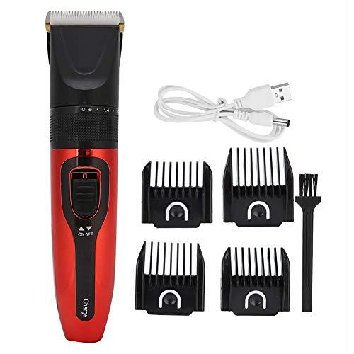Cortadoras de cabello eléctricas Professiona, recortadora de cabello inalámbrica para hombres, cabeza...
