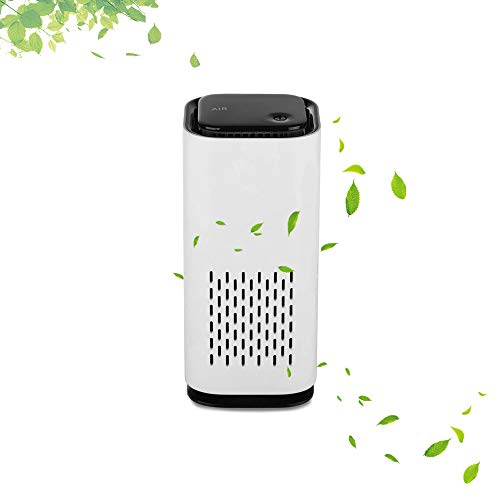 Great Features Of NASKY Air Purifier for Home/car Quiet Odor Eliminators Negative Ion Air HEPA Filter Cleaner (White)