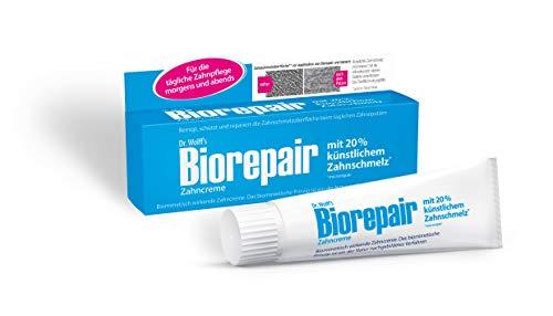 Biorepair Zahncreme – Reparierende Zahnpasta mit künstlichem Zahnschmelz – 4 x 75 ml
