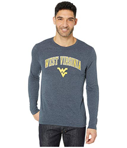 Champion College West Virginia Mountaineers Field Day Long Sleeve Tee Navy LG