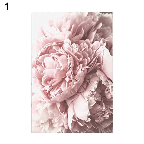 Danigrefinb, dekoratives Leinwandgemälde mit Blumenmotiv, Kunsthandwerk, Tulpen, Leinwand, Bild, Kunst, Poster für Wand, Dekoration für Wohnzimmer, Zuhause, canvas, 1#, 40*50cm