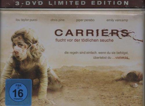 Carriers - Flucht vor der tödlichen Seuche (Survival Box) [Limited Edition] [3 DVDs]