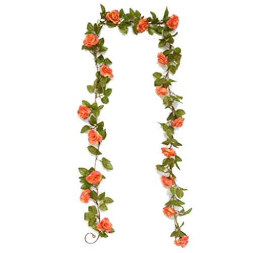 Bloem SAP- Nep Kunstmatige Rose Rotan Buis Decoratie Wijnstok Touw Real Estate Opening Bruiloft Nep benodigdheden