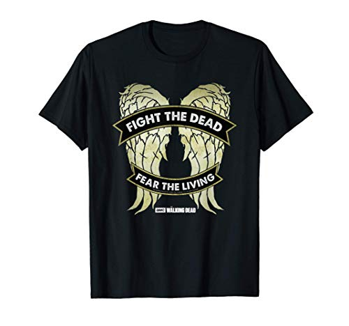 The Walking Dead Daryl Dixon Wings Camiseta
