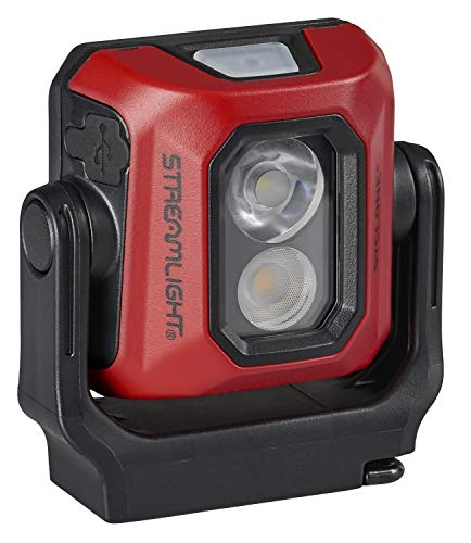 Streamlight 61510 Syclone USB Rechargeable Multi-Function Compact Work Light, Red