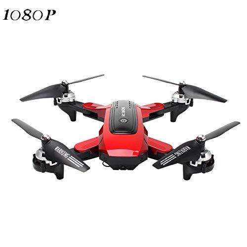 earlyad Quadricottero WiFi FPV RC 5G-4K, Drone Pieghevole a Lunga Durata con Un Solo Pulsante con videocamera HD Video Live Seguimi Trasmissione con Ampio Raggio di Controllo admired
