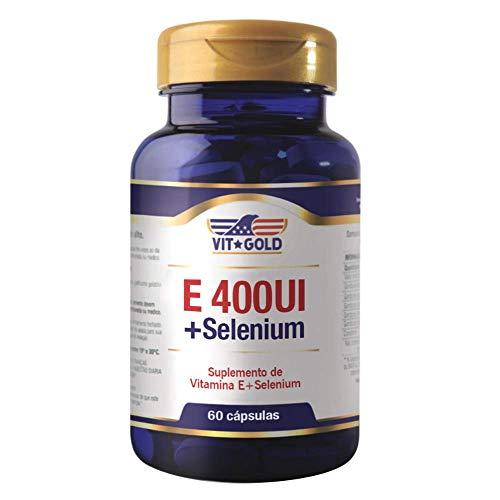 Vitamina E 400ui + Selênio Vitgold 60 cápsulas