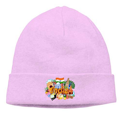 iuitt7rtree Mode Strickmütze für Unisex, Meditation Sloth Beanie Hat
