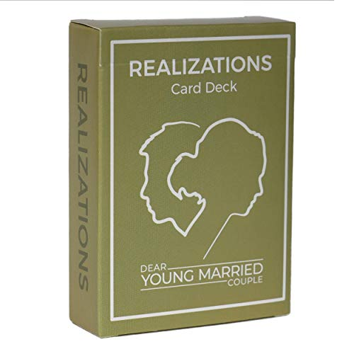 REALIZATIONS - Card Deck - Fun Game for Couples - 52 Questions to See How Well You Know Your Partner – Dating and Engaged Couples Gift – Conversation Starter