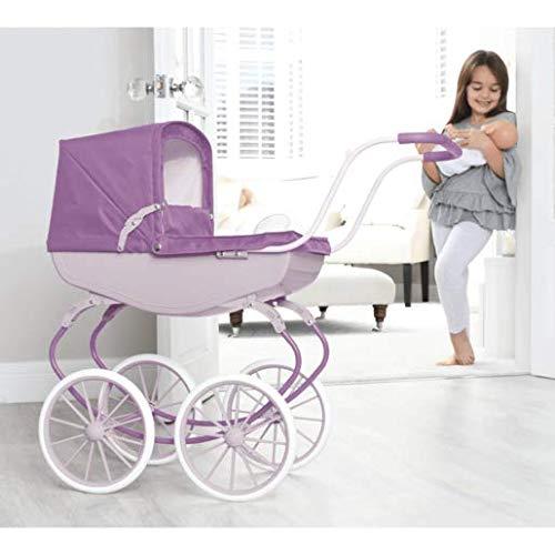 David Halsal Carriage Pram - Purple