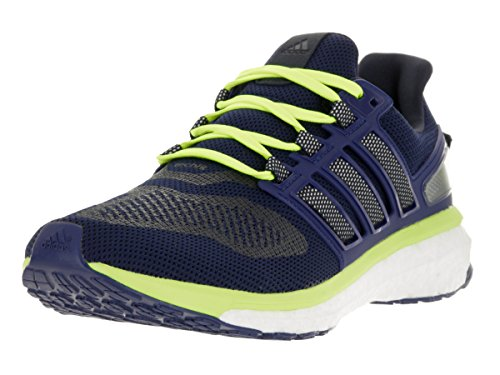 adidas Men's Energy Boost 3 M Running Shoe, Unity Ink/White/Solar Yellow, 9 M US