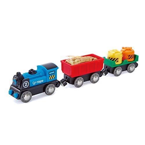 Hape- Tren mercancías a Pilas (Barrutoys E3719)
