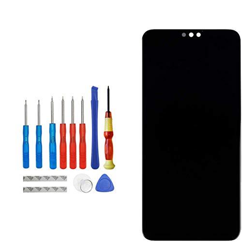 Upplus E-YIIVIIL - Pantalla LCD de repuesto compatible con Honor 8X/Honor View 10 Lite JSN-L21-23, JSN-L42, JSN-L11, JSN-AL00/a, JSN-TL00 (negro)