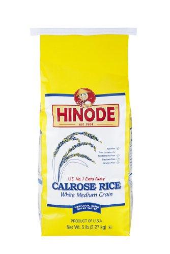 5lb Hinode Calrose Medium Grain White Rice