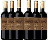 Vin rouge de Bordeaux Collines Antiques provenant du Médoc, cuvée 2016 (6x750ml)