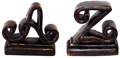 Hickory Manor House A to Z Bookends, BlackBerry