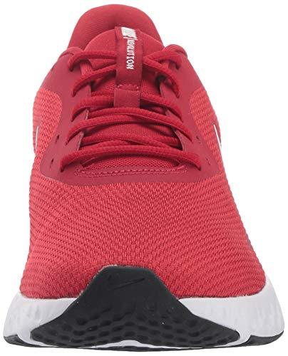 NIKE Revolution 5, Zapatillas de Correr Hombre, Gym Red/White/Black, 44 EU