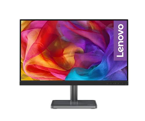 Lenovo L24i-30 60,45 cm (23,8 Zoll, 1920x1080, Full HD, 75Hz, WideView) Monitor (VGA, HDMI, 4ms Reaktionszeit, AMD Radeon FreeSync) schwarz