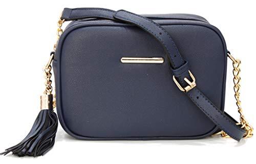 Van Der Rich ® - Bolsos de hombro - Mujer (Azul Marino)