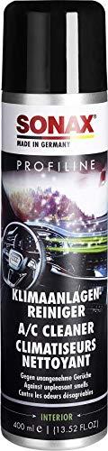 SONAX PROFILINE KlimaanlagenReiniger (400ml) Befreit lästige Gerüche und sorgt für lang anhaltende Lufthygiene. Profiprodukt für Mehrfachanwendung. Biozid-frei | Art-Nr.03243000, neutral