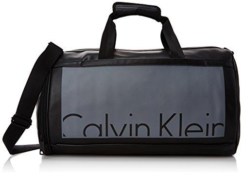 Calvin Klein Jeans Cruise Weekender - Bolso de Mano de Piel sintética Hombre, Color Negro, Talla 51x30x28 cm (B x H x T)