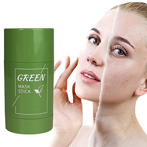 Green Tea Purifying Clay Stick Mask, Face Moisturizes Oil Control, Deep...