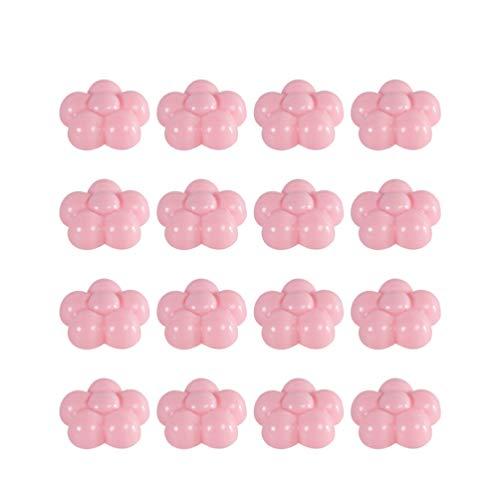 VOSAREA 16 Piezas Clip de Edredones en Forma de Flor de Ciruelo Sujeciones para Edredón Antideslizantes Clips Sujetadores para Colchas Sábanas