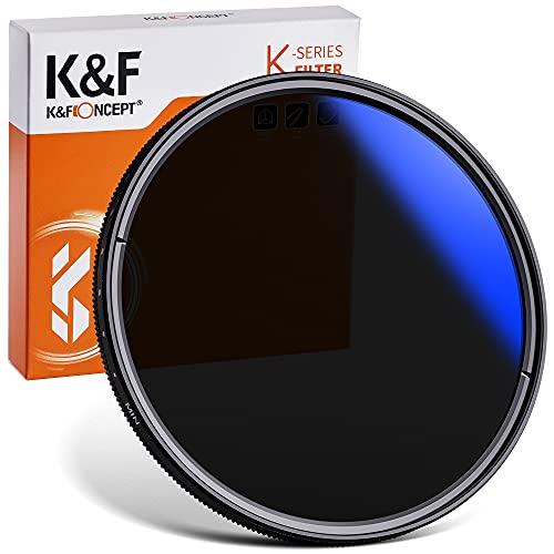 可変式NDフィルター ND2-ND400フィルター 58mm 光学ガラス 減光NDフィルター 薄型 K&F Concept【メーカー直...