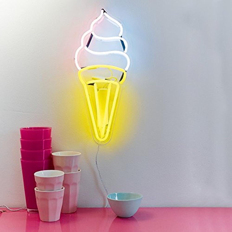 Talking Tables Illum Icecream Ice Cream Neon Light, Papier, Mehrfarbig, 0.09 x 0.18 x 0.51 cm