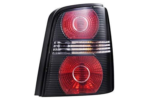 HELLA 2SK 009 477-101 Feu arrière - Illumination - noir - droite - für u.a. VW Touran (1T1, 1T2)