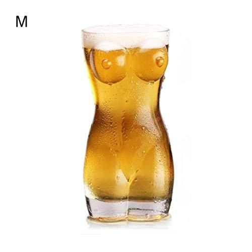 Ysoom - Boccale da birra Sexy Torso, Donna, Large