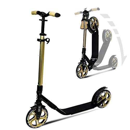 Infinity Scooters City Roller für Erwachsene und Kinder ab 8 Jahren mit 215mm großen Rädern - Big Wheel Klappbar & Höhenverstellbar Tretroller (London)