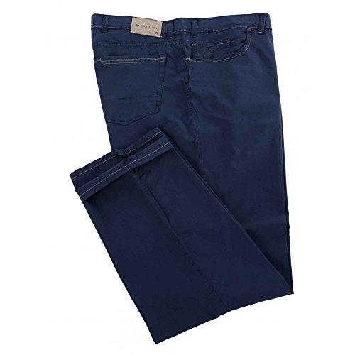 Maxfort Pantalone Liberio Taglie Forti Uomo - Blu Scuro, 68 GIROVITA 136 CM