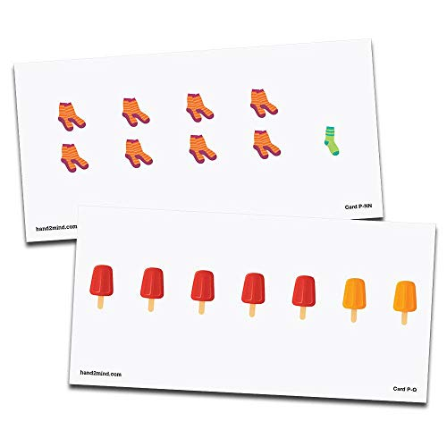 hand2mind Advanced Math Cards - Subitizing Pictures, Grade: Kindergarten to 5