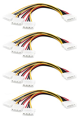cable 4 pin molex de la marca XIWU