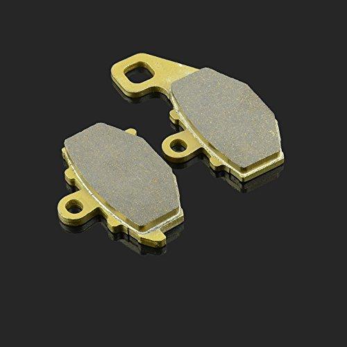 1 paire de plaquettes de frein arrière pour moto CF Kawasaki ZX636 ER-6N ER-6F Z 1000 WK 650I 90 x 51 x 8,5 mm et 98 x 52 x 9,5 mm