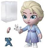 Figura de vinilo de Elsa de Frozen 2 de 5 estrellas (incluye funda protectora de caja pop compatible)