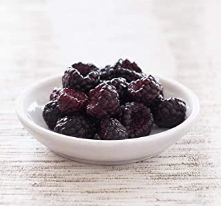 Fresh Frozen Black Raspberries by Northwest Wild Foods - Healthy Antioxidant Fruit Diet - for Smoothies, Pies, Jams, Syrup...