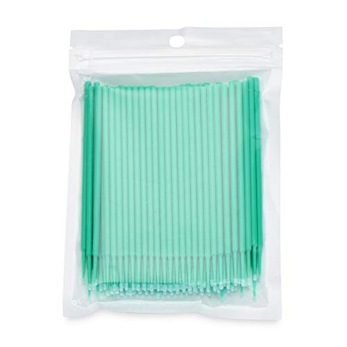 100 x Mikro-Pinsel für Make-up, Kosmetik-Werkzeug, Wattestäbchen, Wimpernverlängerung, Mascara,...