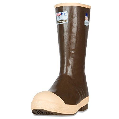 XTRATUF Legacy Series 15' Neoprene Steel Toe Insulated Men's Fishing Boots, Copper & Tan (22273G)