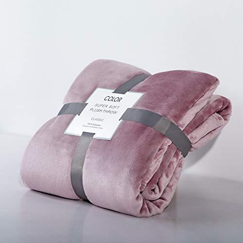 Crystallly dekens voor de zomer, van koraal, eenvoudige dekens, flanel, verdikt, linnen, neapel, dubbele handdoeken, individuele dekbedden, schoenen, 229 x 250 cm, bontkleuren
