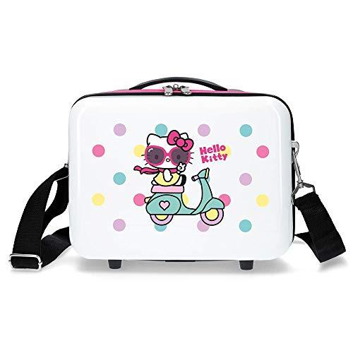 Hello Kitty Neceser ABS Adaptable Girl Gang Hello Kitty, Color Azul Marino